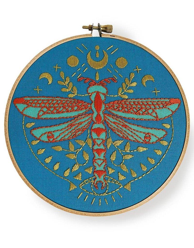 Rikrack Embroidery Kit Mystic Dragonfly
