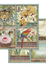 Stamperia 12 x 12 Decorative Paper Amazonia Cards