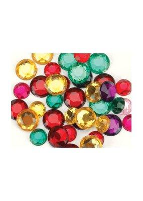 Darice Acrylic Rhinestones Round Assorted Sizes & Colors