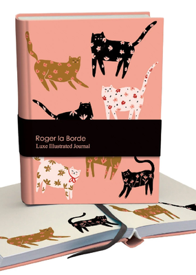 Roger La Borde Luxe Illustrated Journal Cinnamon and Ginger