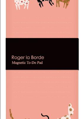 Roger La Borde Magnetic To Do Pad Cinnamon and Ginger
