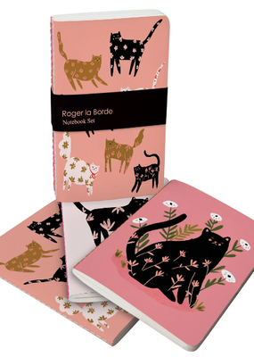 Roger La Borde Soft Cover Notebook Set of 3 Cinnamon and Ginger