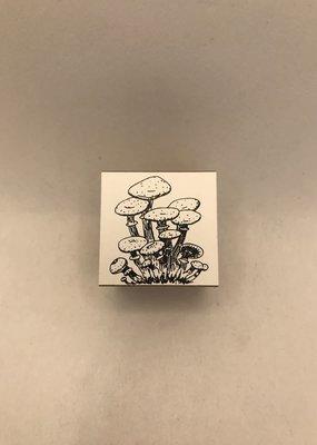collage Stamp Mushroom