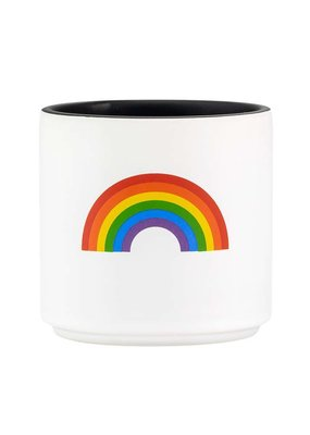 About Face Rainbow Planter