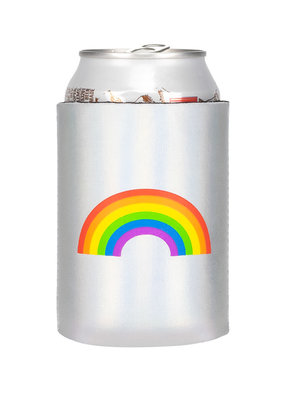 About Face Rainbow Koozie
