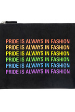 About Face Fashion Zip Pouch