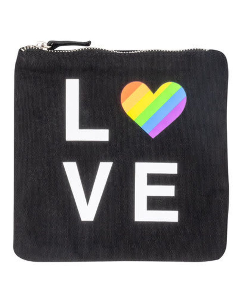 About Face LOVE Zip Pouch