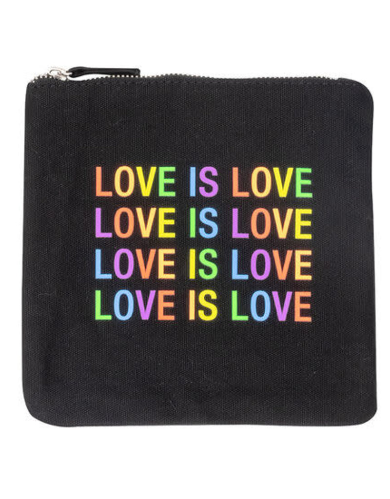 About Face Love is Love Zip Pouch