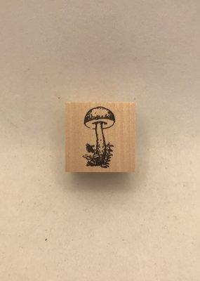 collage Stamp Single Mushroom