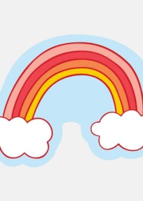 The Good Twin Sticker Cloud Rainbow