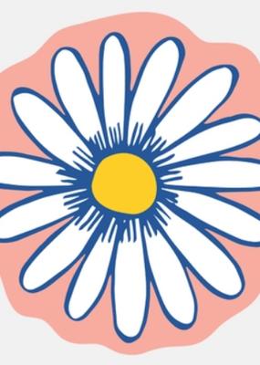 The Good Twin Sticker Daisy