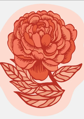 The Good Twin Sticker Rose