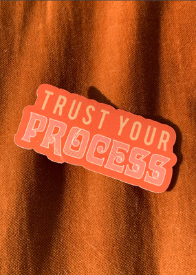 Daisy Natives Sticker Trust Your Process