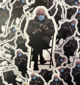 BOBBYK boutique Sticker Bernie Sanders Chair