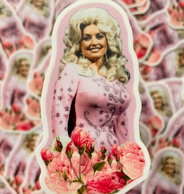 BOBBYK boutique Sticker Dolly Parton