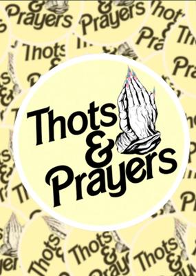 BOBBYK boutique Sticker Thots & Prayers