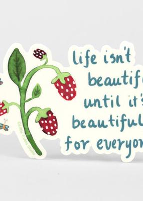Little Truths Studio Sticker Beautiful for Everyone