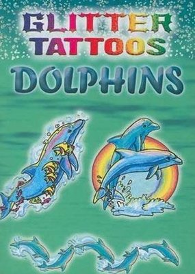 Dover Dover Glitter & Glow Tattoo Books