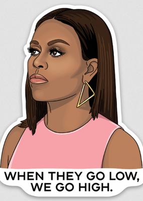 The Found Sticker Michelle Obama