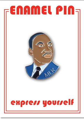 The Found Enamel Pin MLK