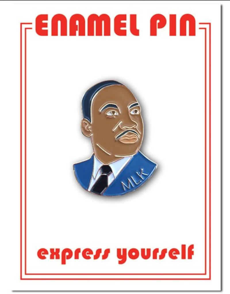 The Found Enamel Pin MLK