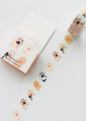 collage Washi Cat Paw