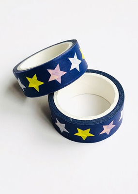 collage Washi Colorful Star