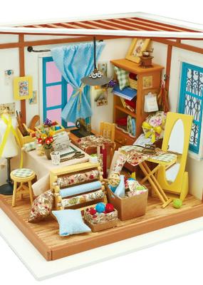 Hands Craft Miniature Dollhouse Kit Lisa's Tailor