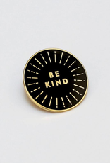 collage Enamel Pin Be Kind