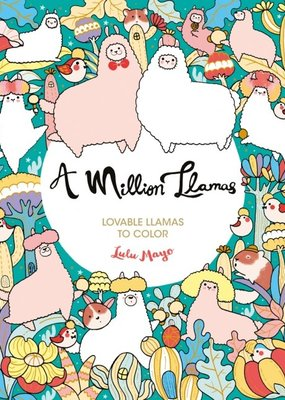 Sterling Coloring Book A Million Llamas