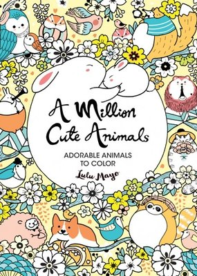 Sterling Coloring Book A Million Cute Animals