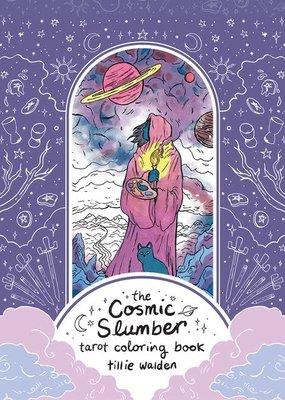 Sterling Cosmic Slumber Tarot Coloring Book