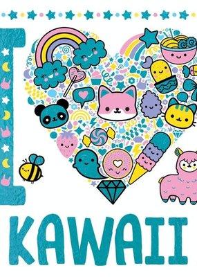 Sterling I Heart Kawaii Coloring Book