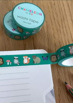 Chameleon And Co Washi Woodland Animals