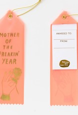 Yellow Owl Workshop Award Ribbon Note Mother Freakin Year