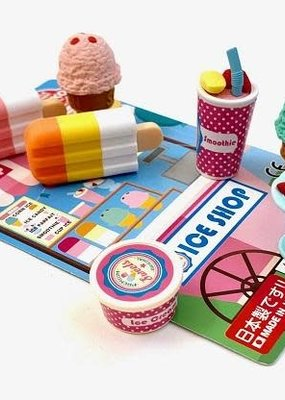 Ice Cream Eraser Set