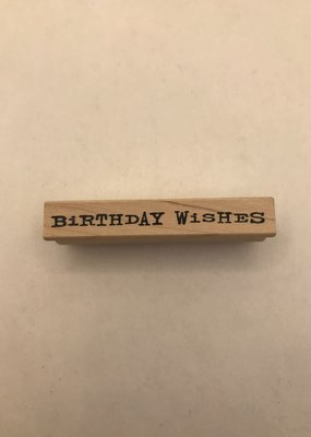 collage Stamp Birthday Wishes