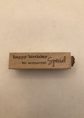 collage Stamp Happy Birthday To Someone Special