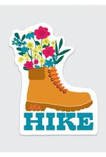 Rock Scissor Paper Sticker Hiking Boot