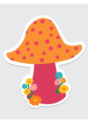 Rock Scissor Paper Sticker Dotted Mushroom