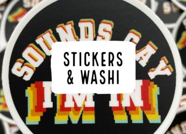 Stickers & Washi
