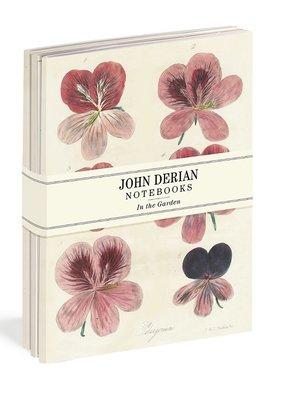 John Derian Paper Goods Notebook Set In the Garden