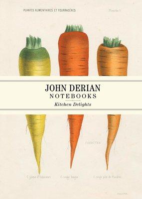 John Derian Paper Goods Notebook Set Kitchen Delights