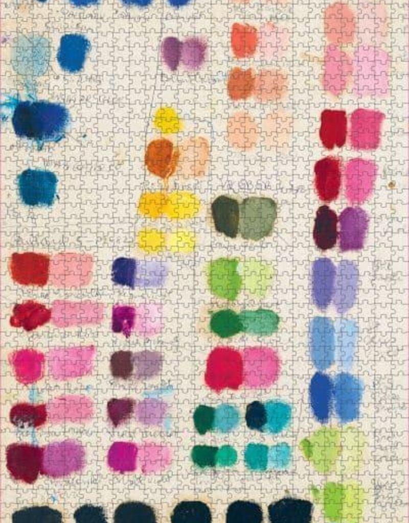 John Derian Paper Goods 1000 Piece Puzzle Painter's Palette