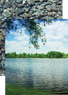 Reminisce 12 x 12 Decorative Paper Lakeside