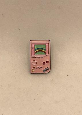 collage Enamel Pin Game Boy