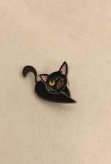 collage Enamel Pin Luna Cat