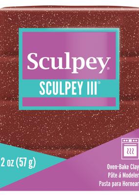 Sculpey Sculpey III 2oz Garnet Glitter