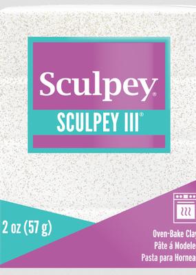 Sculpey Sculpey III 2oz White Iridescent