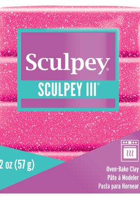 Sculpey Sculpey III 2oz Pink Glitter